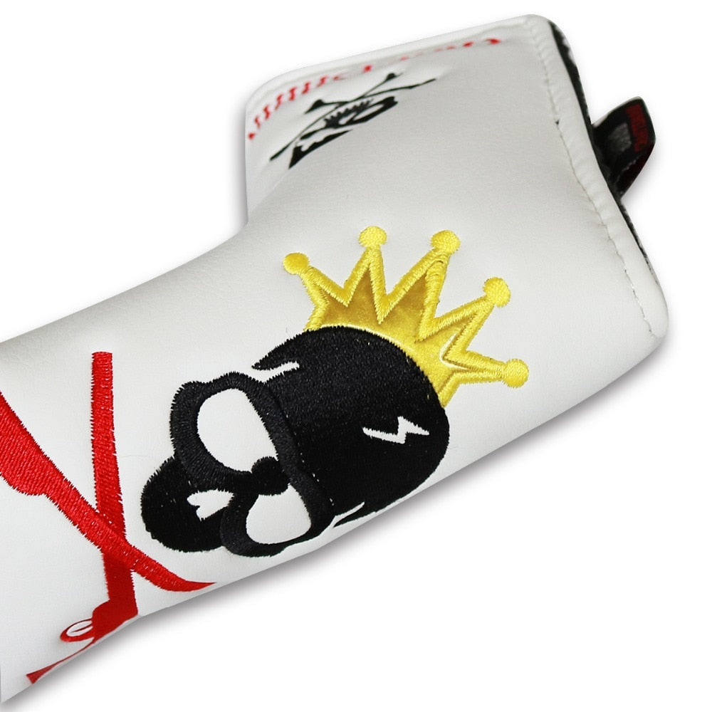 Skull Golf Putter Headcover