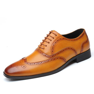 Leather Formal Business Pointed Dress Shoes