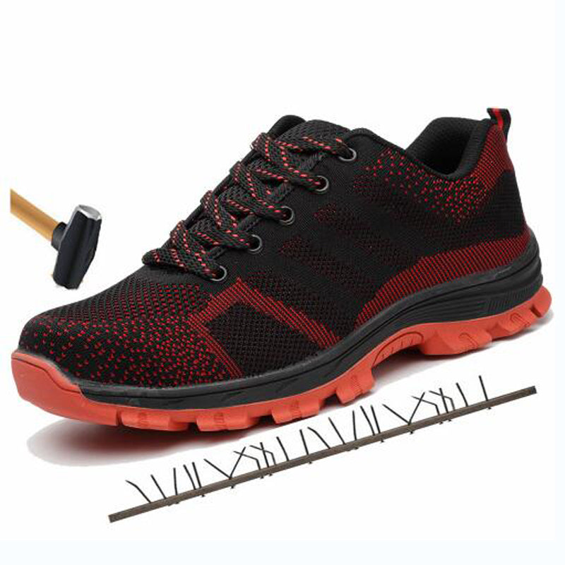 Breathable Steel Toe Cap Work Safety Shoes