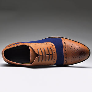 Business Leather Oxford Men Shoes