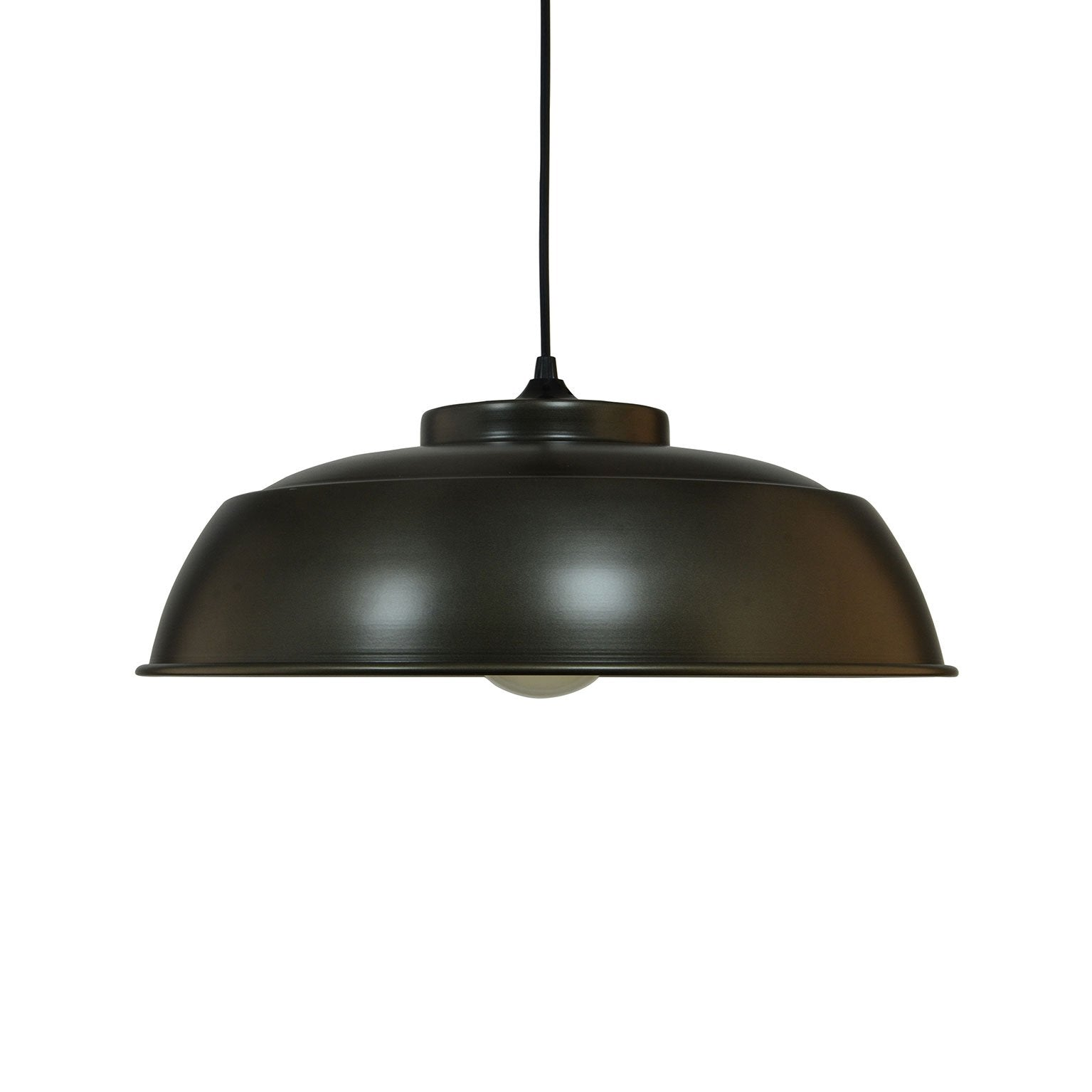belle suspension basique gris anthracite