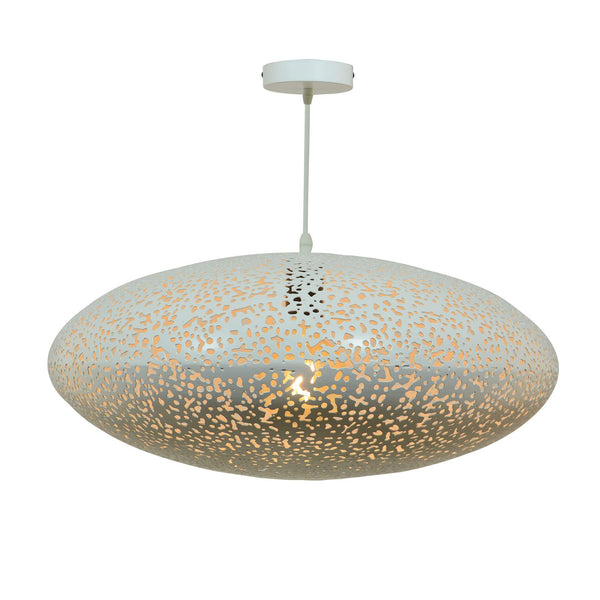 Suspension Misley PM en métal avec perforations - Lampe Deco