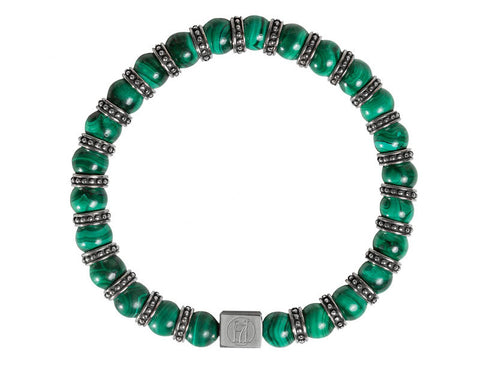 Green Malachite Bracelet for Men