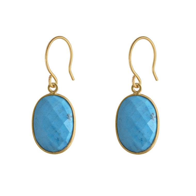 Handmade Turquoise Serenity Earrings