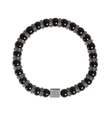 Men's Black Onyx Bracelet Bracelet for Strength, Power & Protection