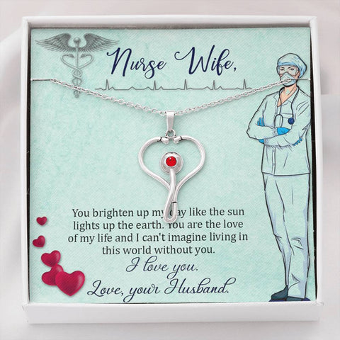 The Traveling Nurse Necklace - Travel with Myght
