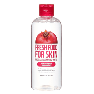 FARMSKIN MICELLAR CLEANSING WATER FOR DRY SKIN -POMEGRANATE