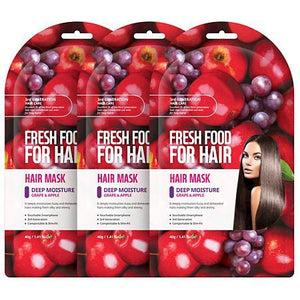 FARMSKIN Hair Mask Deep Moisture Grape & Apple 1 Box