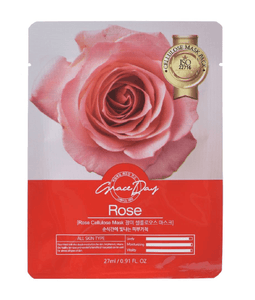 GRACE DAY Traditional Oriental Mask Sheet - Rose 27ml