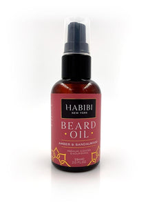 HABIBI Amber & Sandalwood Beard Oil 2.0 fl. oz.