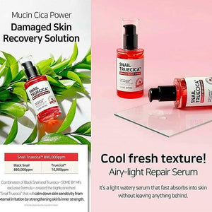 cool fresh texture airy light repair serum