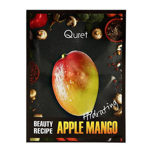 QURET Beauty Recipe Mask-  Apple Mango [Hydrating]