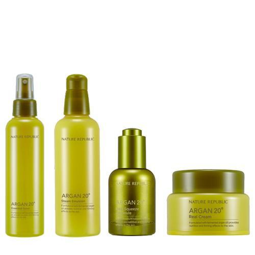 Argan 20 Full Facial Care Combo