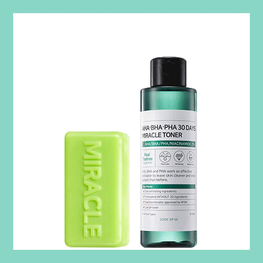 Miracle Pure Set #Soap + Toner