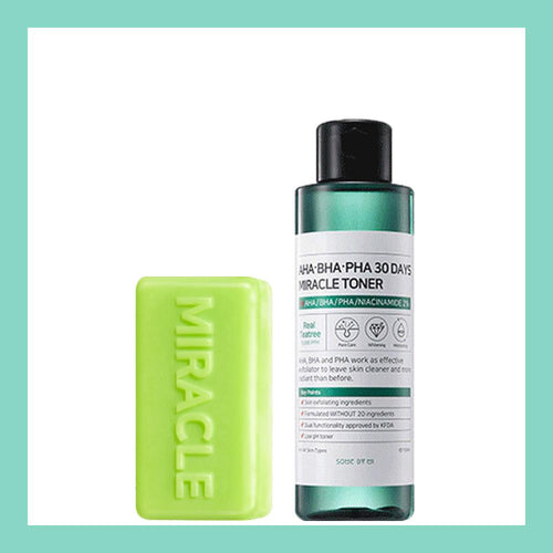 Miracle Soap + Miracle Toner Set