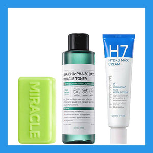 Miracle Set H7 Line Soap + Toner + H7 Cream