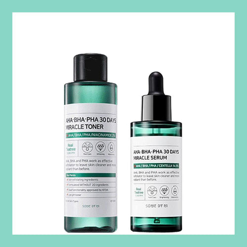 Miracle Pure Set #Toner + Serum
