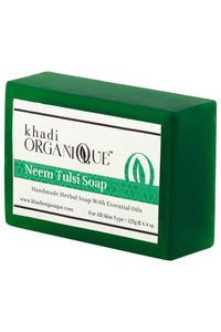 KHADI ORGANIQUE Neem Tulsi Soap