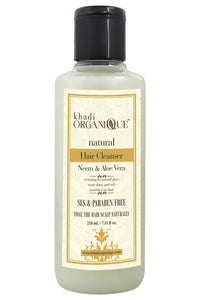 KHADI ORGANIQUE Neem and aloe vera Hair cleanser