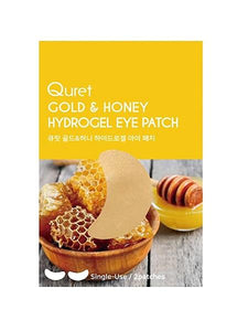 QURET Gold & Honey Hydrogel Eye Patch