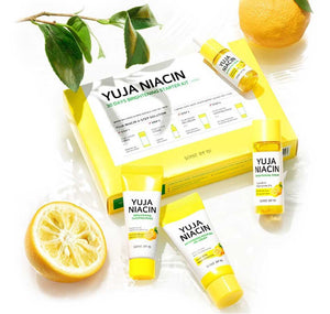 Yuja Niacin Brightening Starter kit (Toner +Serum +Gel Cream +Sleeping Mask)