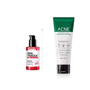 Snail Truecica Plus Miracle Acne Clear Foam Set