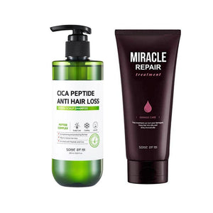 [SOMEBYMI] Cica Peptide Anti-Hair Loss Derma Scalp Shampoo + Miracle treatment