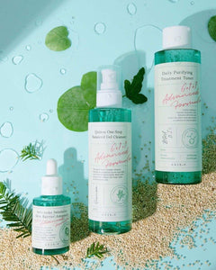 Daily purifying Skin Treatment Balanced Set # Axis-Y Toner + Gel Cleanser +Ampoule