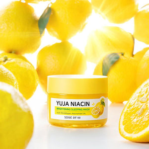 somebymi yuja niacin sleeping mask 60g