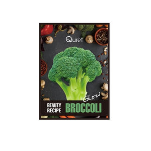 QURET Beauty Recipe Mask- BROCCOLI [Glow]