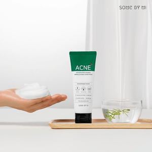 Some By mi Acne Clear set # Acne clear foam + Clear Spot Patch + Spot All Kill Cream
