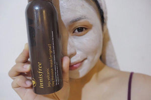 Jeju Volcanic Clay Mousse Mask