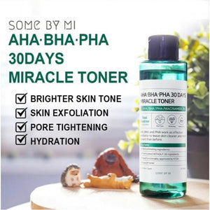 Some By Mi Miracle Toner 30 Days AHA BHA PHA