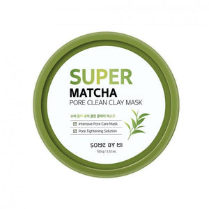 Pore Clean Clay Mask SOME BY MI Super Matcha