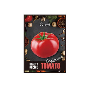 QURET Beauty Recipe Mask- TOMATO [Brightening]
