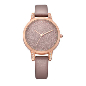 Rhinestone Luxury Leather Watch