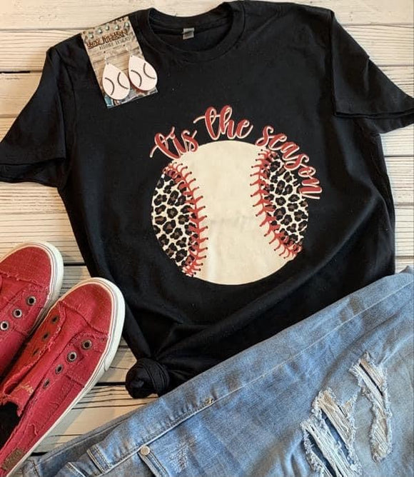Tis The Season Baseball tee - Ships in 1-2 Weeks