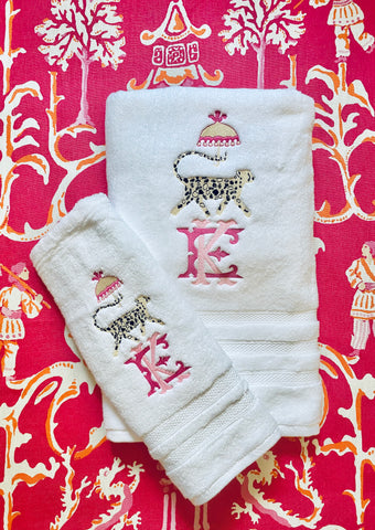 Cheetah Design Towel