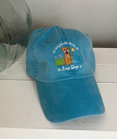 Loop Dogs Turquoise Hat