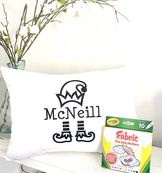 Nutcracker Christmas Pillow