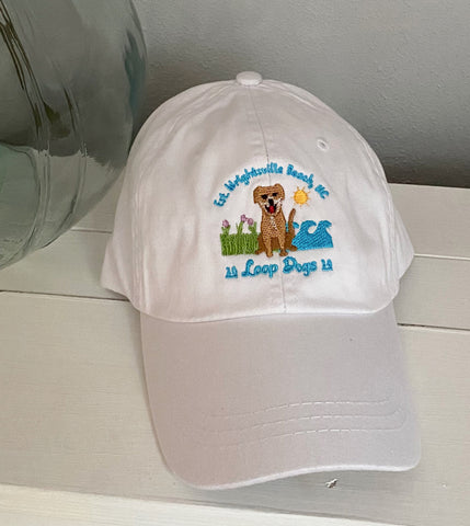 Loop Dogs White Hat