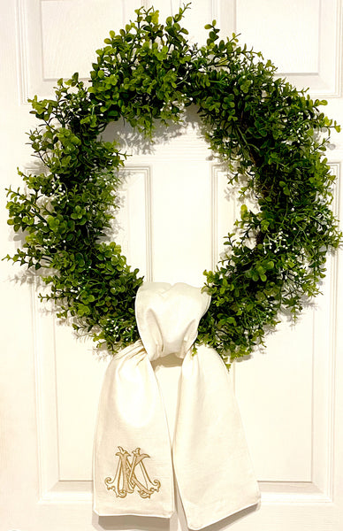 Wreath Sash
