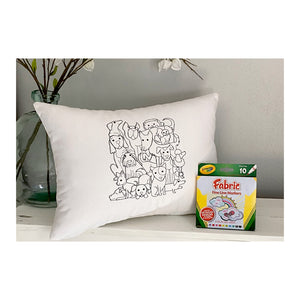 For A Cause Coloring Dog Pile Pillow