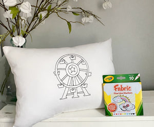For A Cause Coloring Ferris Wheel Pillow