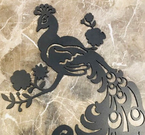 Peacock-- Metal Wall Art home decor
