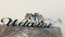 Running Horses Welcome Sign~ Metal Wall Art home decor