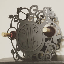 Customized Monogram Wine Holder
