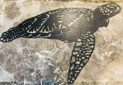Sea Turtle Metal Wall Art