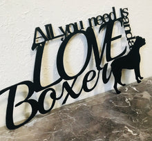 Boxer - All You need is Love and a Boxer