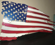 Tattered Flag 11x19